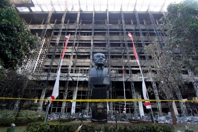 Attorney General's Office Submits Rp. 400 Billion to Build a Burnt Building