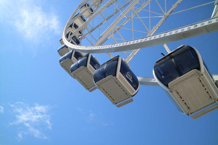 ferris wheel, japan, yomiuri land