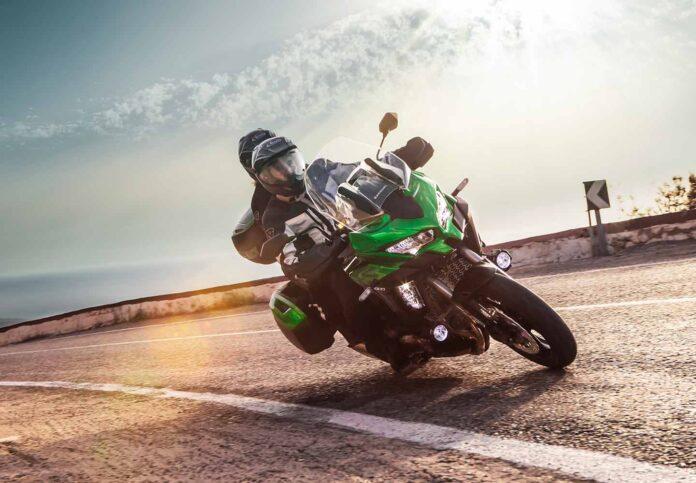 kawasaki, motorbike