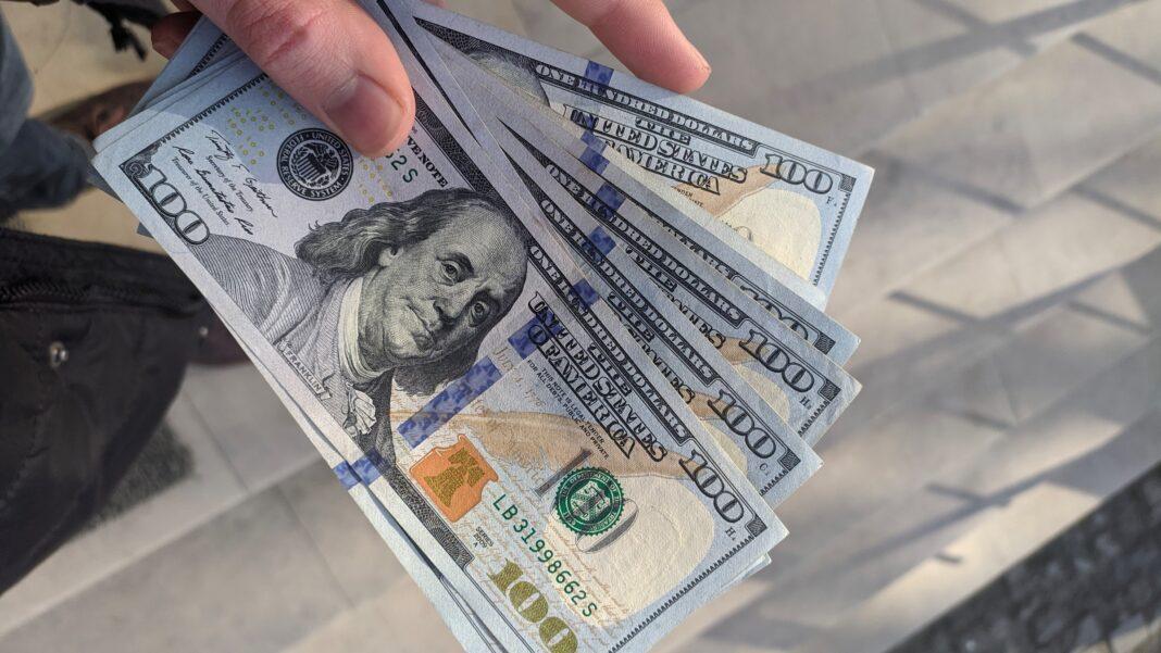 US dollar, rupiah, exchange rate, money, finance