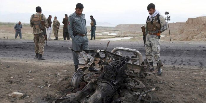 bomb in afghanistan