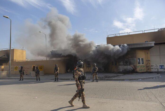 Rockets attack near US embassy in Iraq