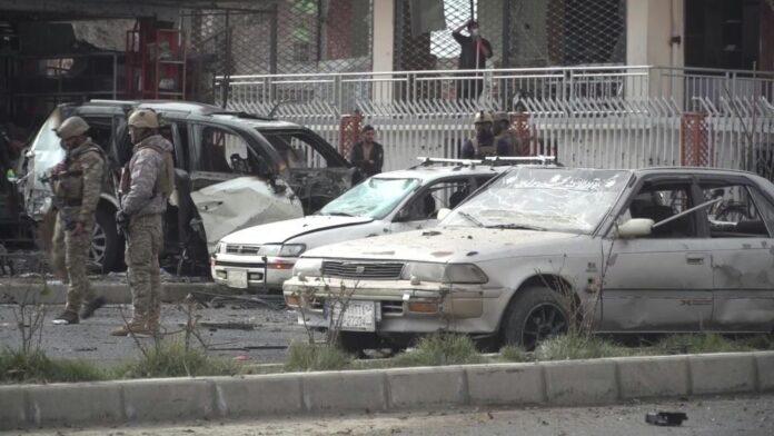 a car bomb in Kabul