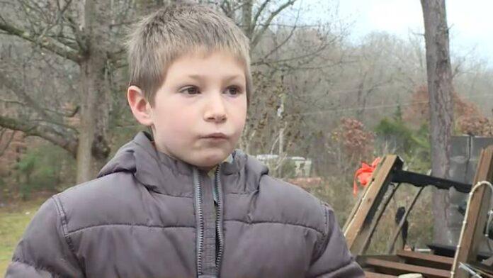 Eli Davidson saved his little sister