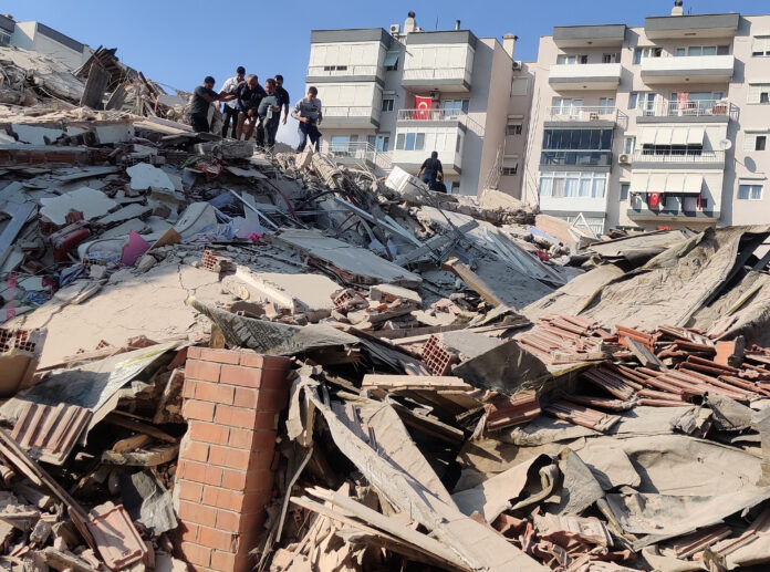 earthquake, izmir, turkey