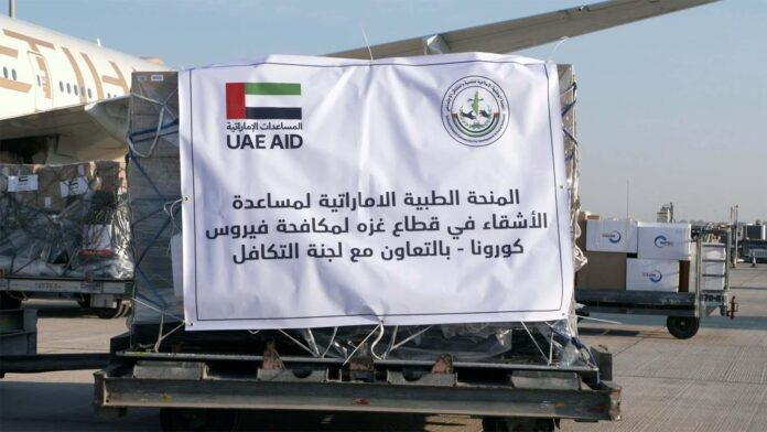 UAE aid