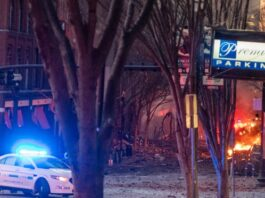 The Nashville USA Explosion at Christmas