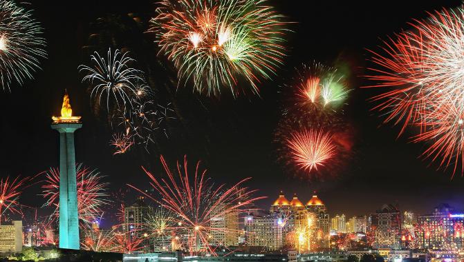 new year in jakarta