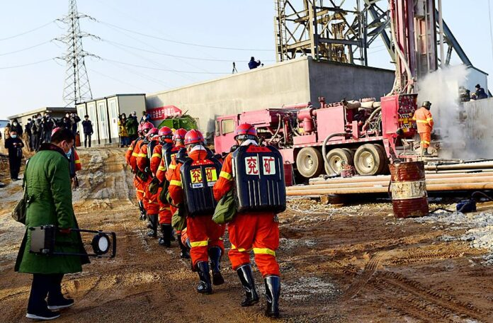 chinese miners rescue
